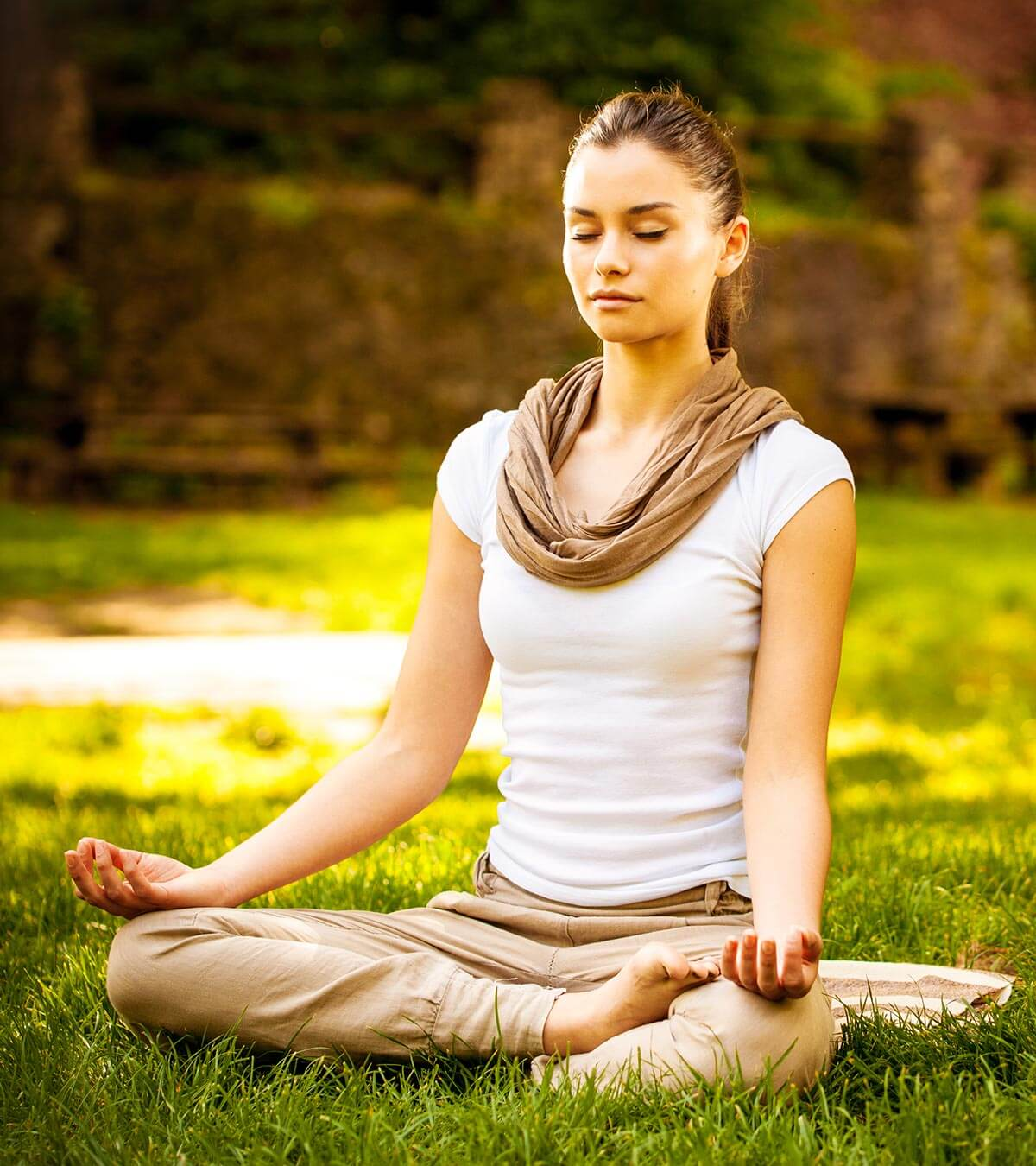 MEDITATION IN THE GRASS
