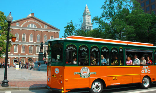 Boston Trolley Rides